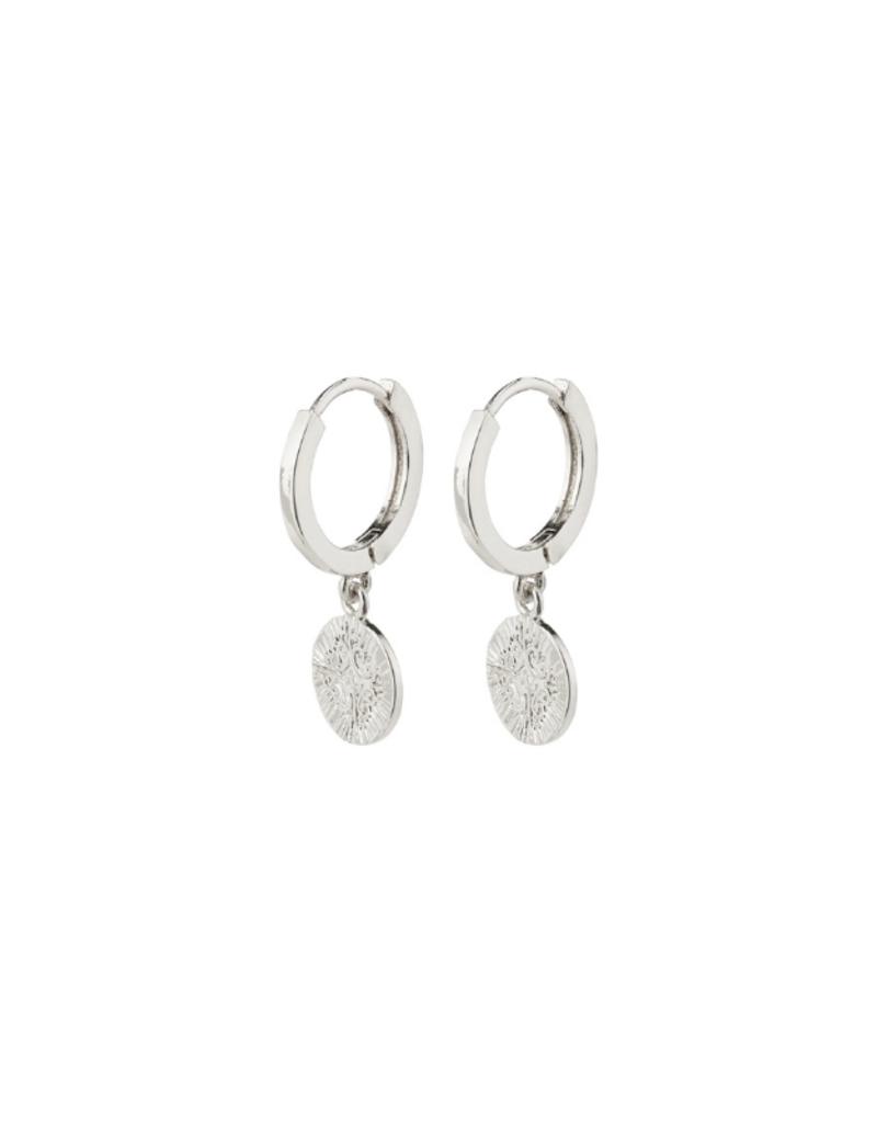 PILGRIM Nomad Earrings Silver-Plated by Pilgrim