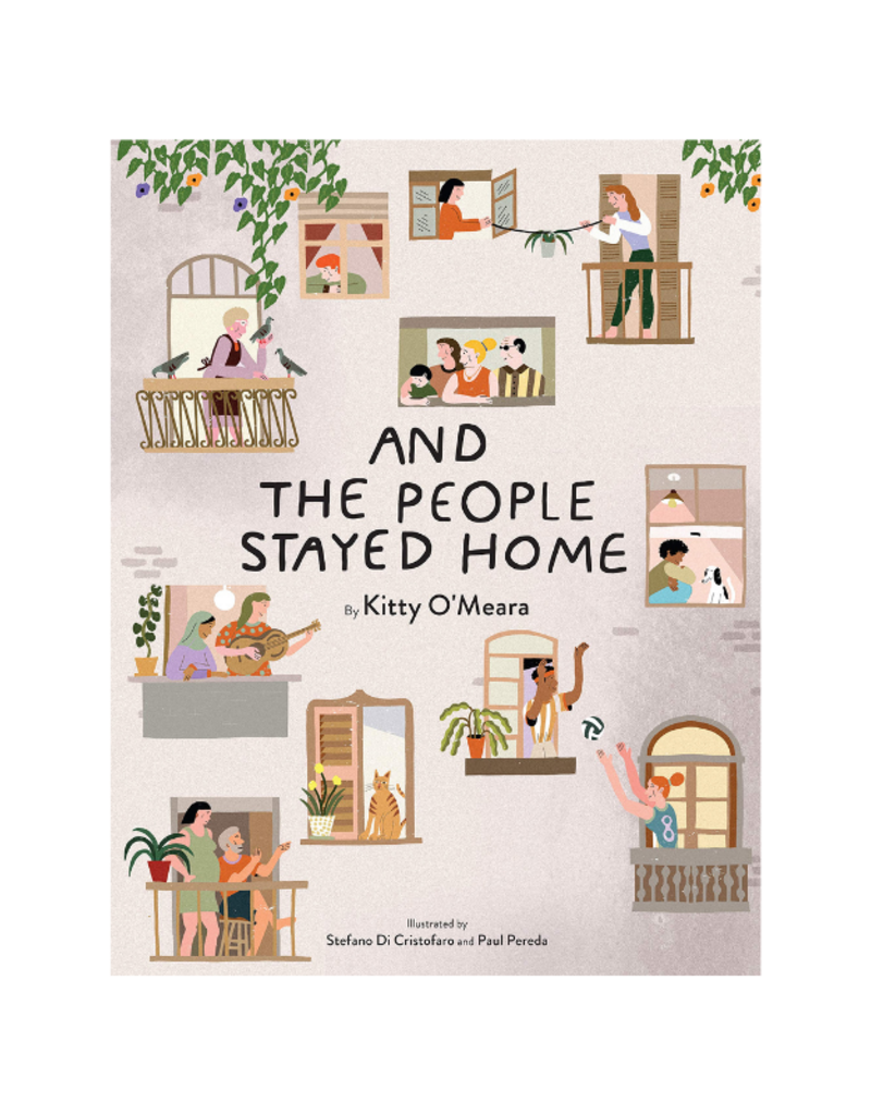 And The People Stayed Home Book