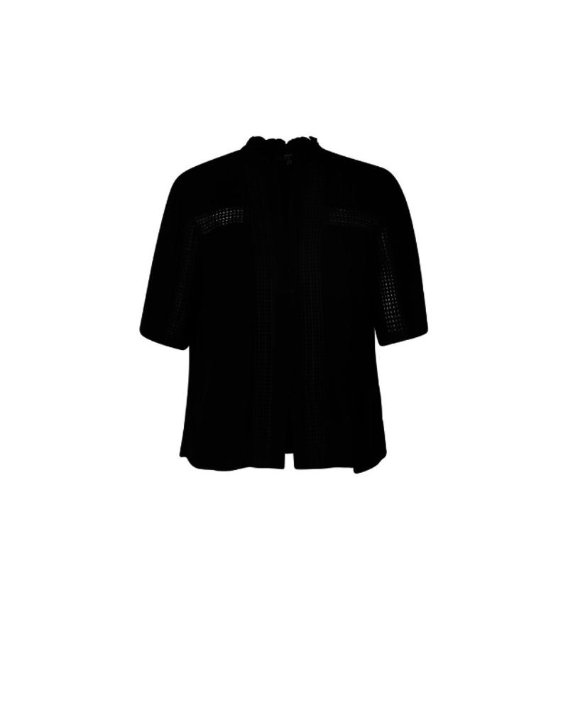 Illiana Blouse in Black by Yest