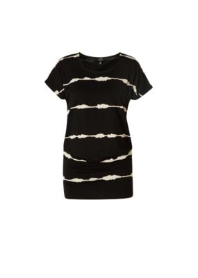 Yelitza Tunic in Black by Yest