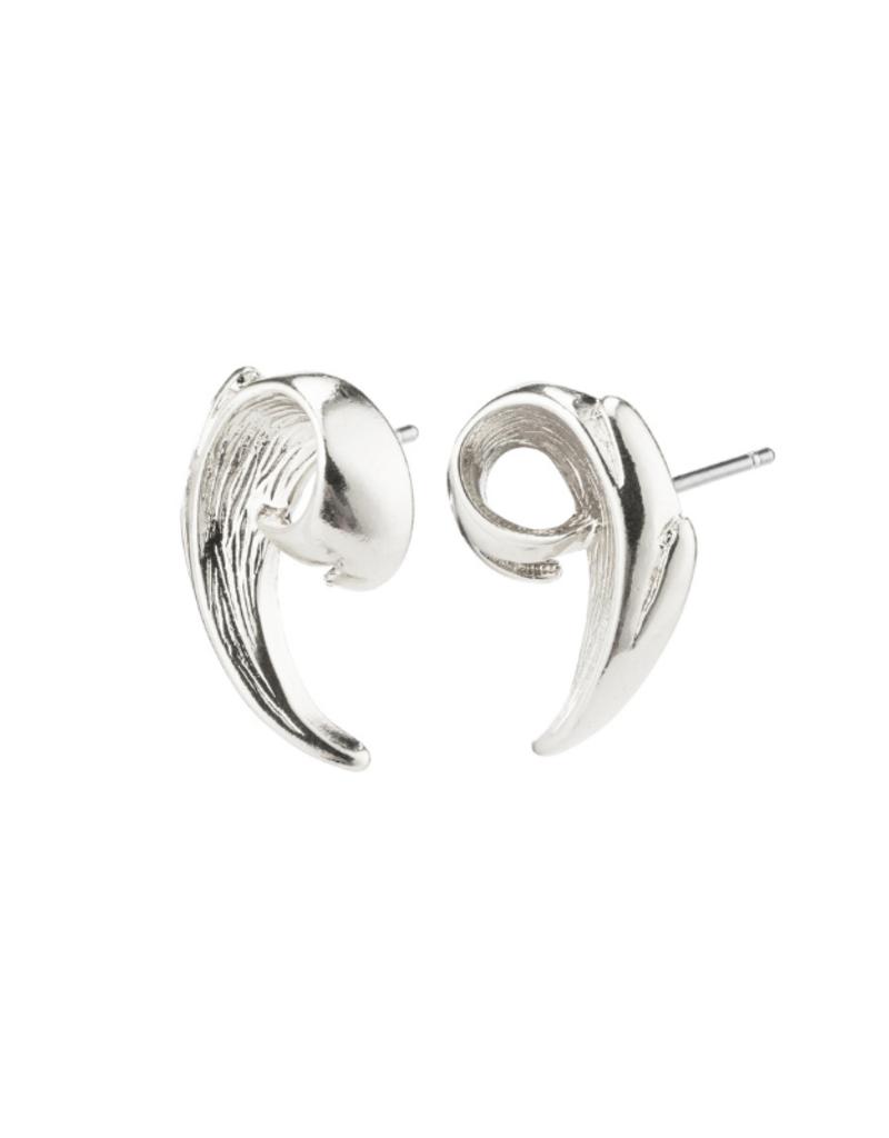 PILGRIM Francesca Earrings Silver-Plated by Pilgrim