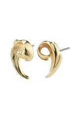 PILGRIM Francesca Earrings Gold-Plated by Pilgrim