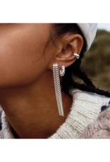 PILGRIM Gabrina Earrings Silver-Plated by Pilgrim