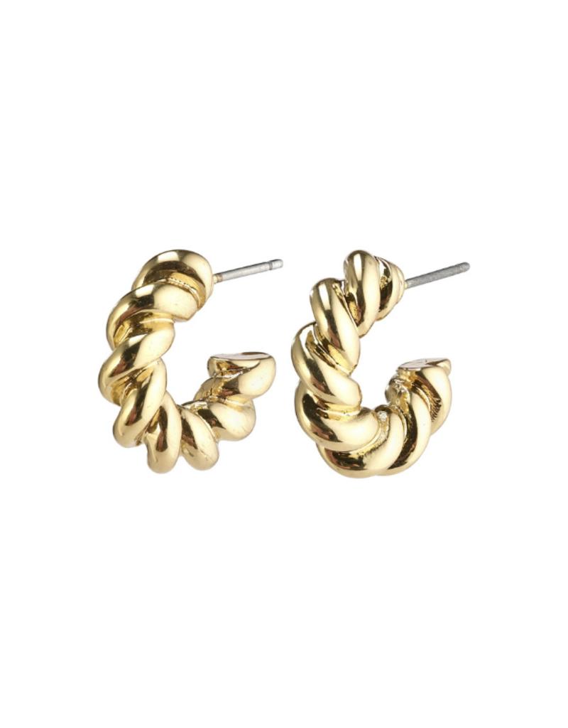 PILGRIM Gabrina Earrins Gold-Plated by Pilgrim