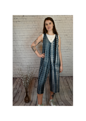 Saba & Co Jumpsuit with Tie in Tie Dye by Saba & Co