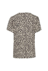 b.young Rillo T-Shirt in Cement Leopard by b.young
