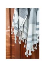 Turkish Hand Towel in Navy by Pokoloko
