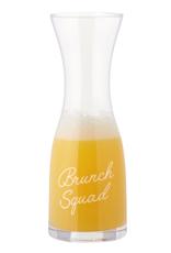 creative brands Brunch Squad Glass Carafe