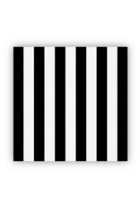 creative brands Cheese Paper Black & White Stripe
