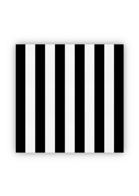 creative brands Cheese Paper Black & White Stripe