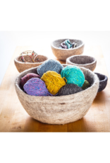 Felted Wool Nesting Bowls