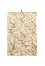 Cotton Tea Towel Tan Palm