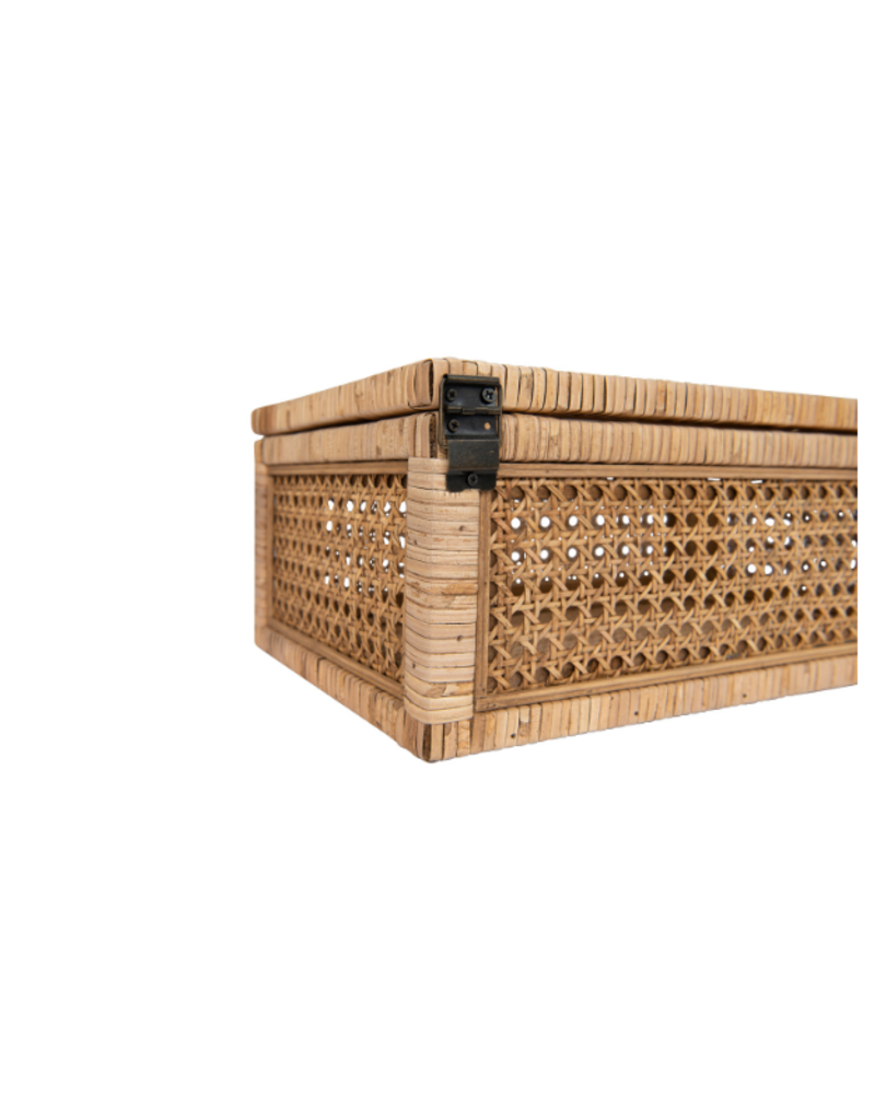 Woven Rattan Display Boxes
