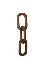 Reclaimed Wood Chain Link Decor