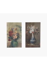 Vintage Floral Vase Matches