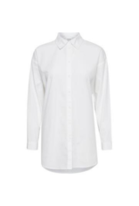 b.young Gamze Shirt in Bright White by b.young