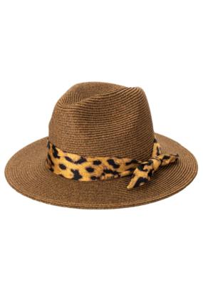 Fedora Hat with Leo Scarf by San Diego Hat Company