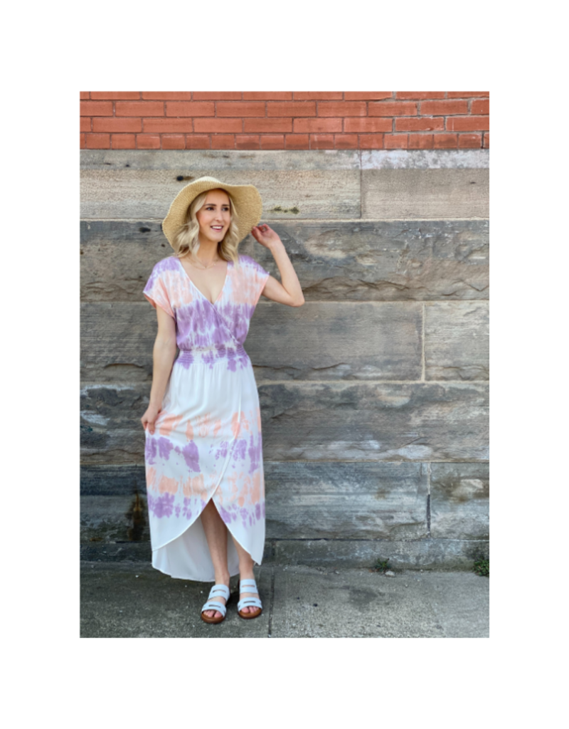 Smocked Cloud Stain Dress by Mod-O-Doc
