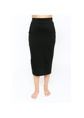 Smash + Tess Street To Chic Skirt in Midnight Black by Smash + Tess