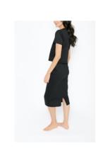 Smash + Tess Street To Chic Skirt in Midnight Black by Smash + Tess