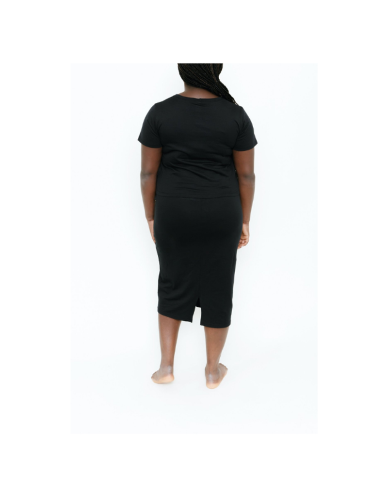 Smash + Tess Street To Chic Top in Midnight Black by Smash + Tess