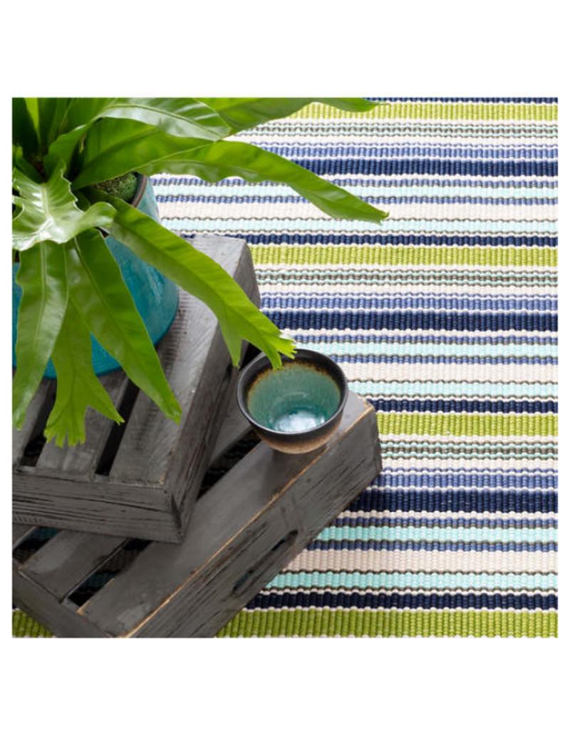 Dash & Albert Dash & Albert Pond Stripe Indoor/Outdoor Rug