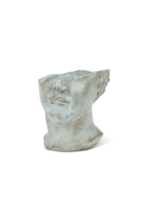 Half-Face Male Head Planter