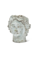Athens Male Head Planter