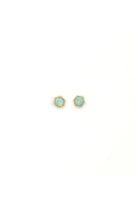 Lover's Tempo Astrid Stud Earrings in Pacific Opal by Lover's Tempo