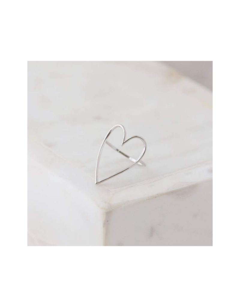Lover's Tempo Lovestruck Silver Ring Size 7 by Lover's Tempo