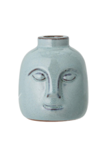 Bloomingville Round Stoneware Face Taper Holder
