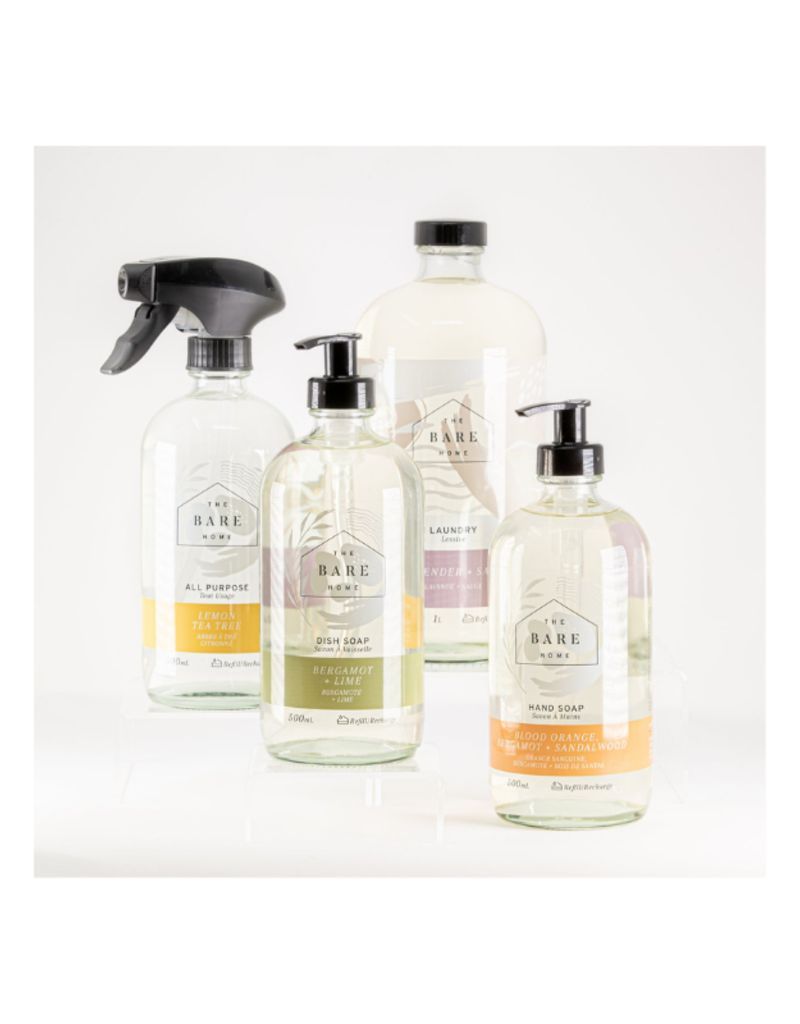 The Bare Home The Complete Home Bundle (Blood Orange + Sandlewood Hand Soap) by The Bare Home