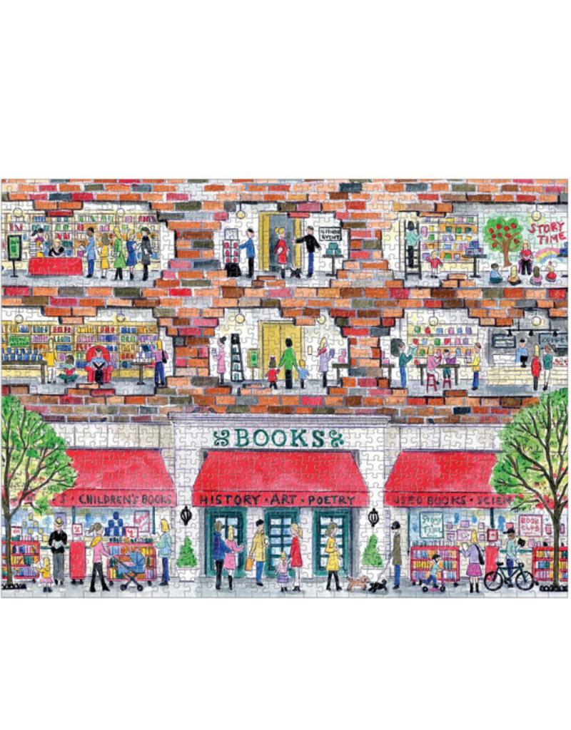 A Day at the Bookstore Puzzle