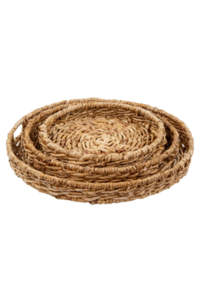 Natural Abaca Trays