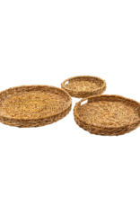 Indaba Trading Natural Abaca Trays