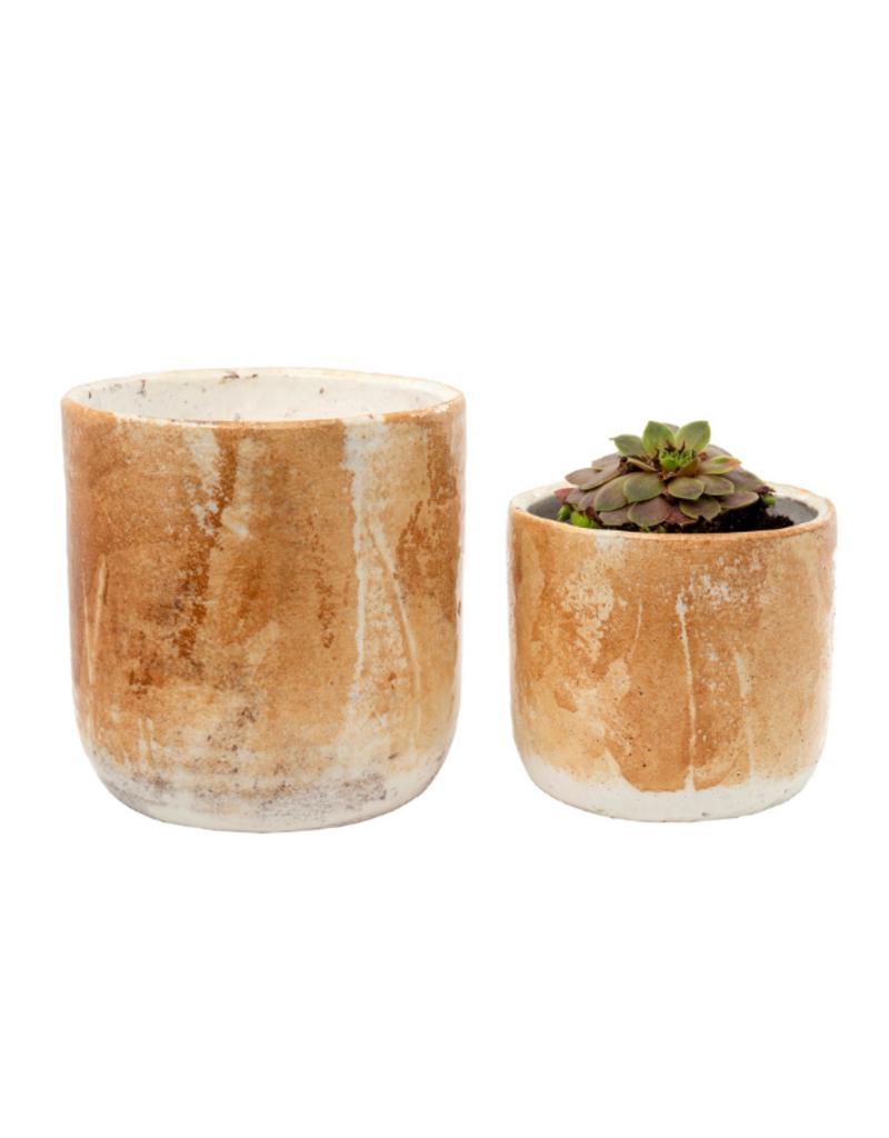Palette Pots in Honey