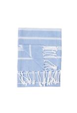 Turkish Hand Towel Sultan  Azure