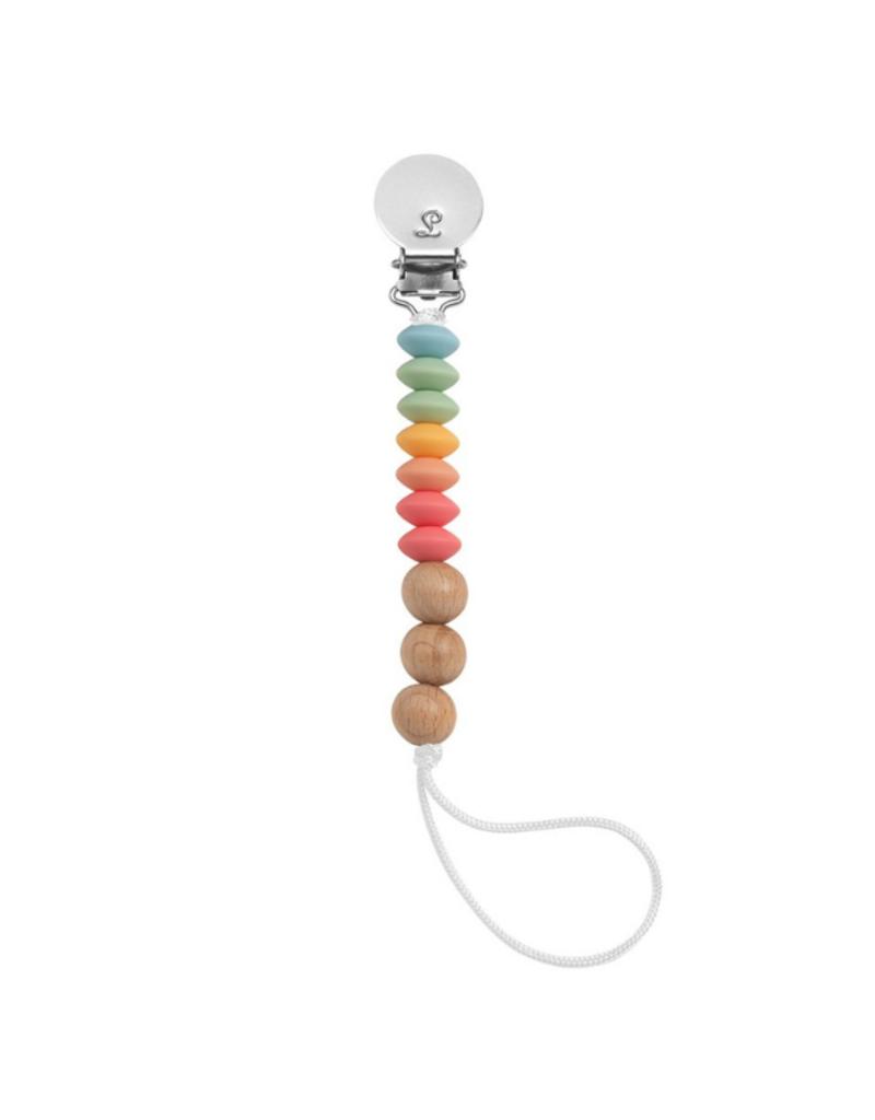 LouLou Lollipop Loulou Lollipop Jubilee Pacifier Clip in Summer