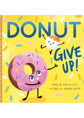 Donut Give Up Book