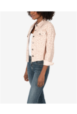 Kut from the Kloth Kara Crop Jacket Light Rose by Kut from the Kloth