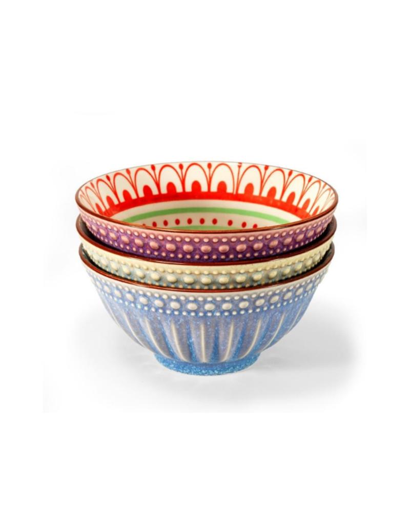 Patterned Porcelain Bowls