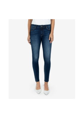 Kut from the Kloth Connie High Rise Ankle Raw Hem in Pose by Kut from the Kloth