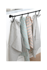 Set of 2 French Linen Tea Towels in Taupe