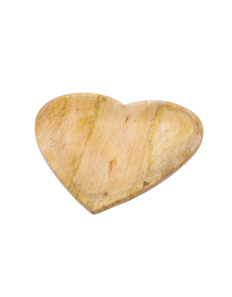 Indaba Trading Wild Heart Wood Plate