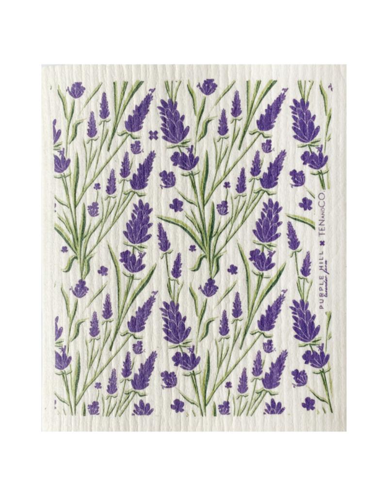 Ten & Co. Swedish Sponge Cloth Lavender