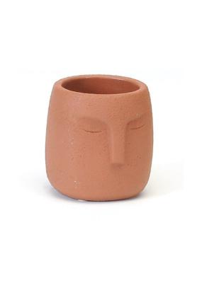 Terracotta Face Planter Medium