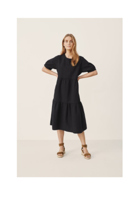 Part Two Iane Black Dress by Part Two