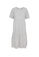 Part Two Iane Blue Check Dress by Part Two