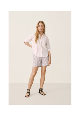 Part Two Bright White Cindies Linen Shirt by Part Two