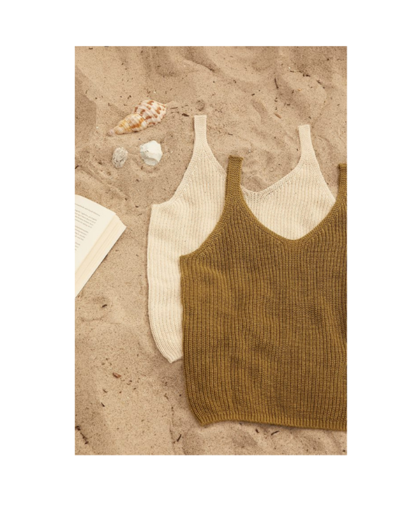 Part Two Camerona Tank Top in Olive by Part Two
